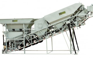 Concrete Batch Plant | Dry Mobile | HT-Series Haganator Travel-All