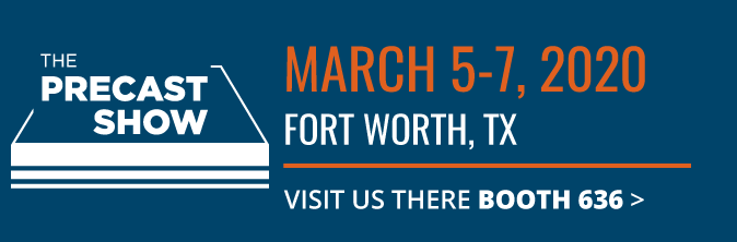 NPCA Precast Show | Fort Worth, TX | Vince Hagan Concrete Products Plants Booth 636